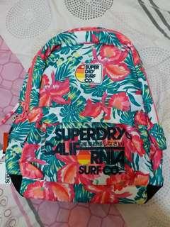 Superdry 極度乾燥 backbag 背囊 / 背包