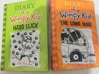 Diary of a wimpy kid (hard luck and long haul)