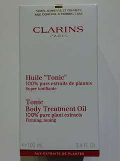 Clarins Tonic Body Treatment Oil - 100ml