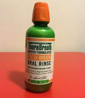 TheraBreath, Fresh Breath, Oral Rinse, Mouth wash
