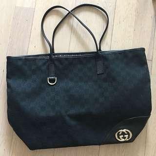 Gucci tote bag 手袋