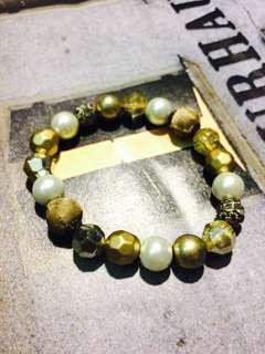 購於巴黎市集套式復古古著古董手環