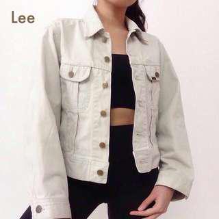 Lee Khaki Westerner Denim Jacket Outerwear