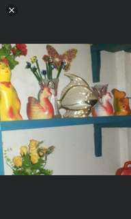 Celengan Kecil Bebek,  Ikan,  Ayam