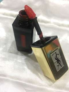 Ysl rouge pur couture pop water glossy stain, shade: 202 Rouge Splash