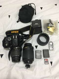 Nikon D5200 with Full set