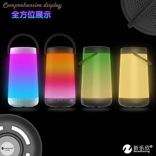 Bluetooth Speaker with Led Lights and Sub-Woofer