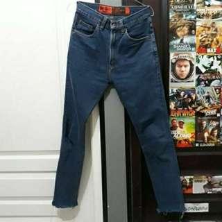 Celana Jeans High Waist Lea