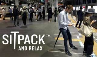 Sitpack kursi bangku lipat portable