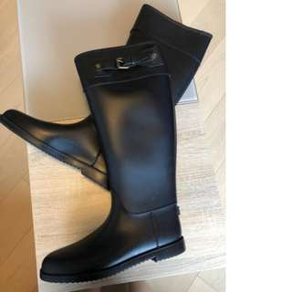 Brand new men's Burberry rain boots, 45