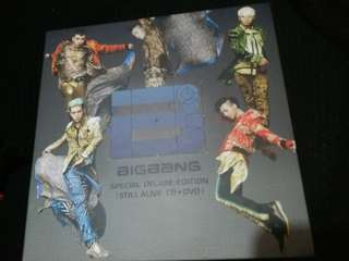 Big Bang special deluxe edition still alive CD+DVD 淨專(兩隻碟99%新。封套外觀7成新)