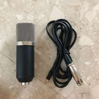 New BM700 Condenser Mic With Cable
