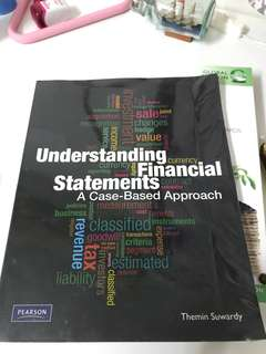 Understanding Financial Statements A Case-Based Approach