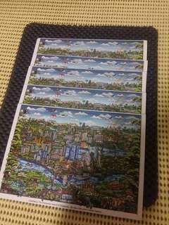 National Day Coming!!! >>>> SG50 postcard (5 pcs left) ($1 ea)