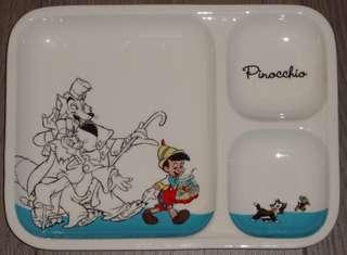 小木偶 Pinocchio 絕版日本迪士尼限定 陶瓷碟