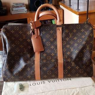 Authentic LV KeepAll 45