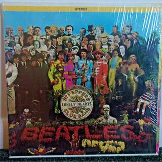 Sgt. Peppers Lonely Hearts Club Band Original Beatles Vinyl Track