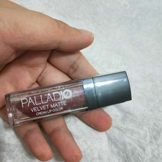 BN Palladio Velvet Matte Cream Lip Color in SUEDE
