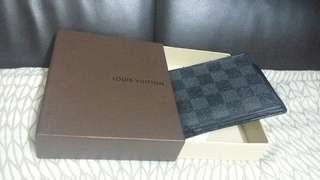 LV wallet for men with box