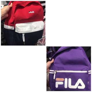 [Pre-order] Authentic Fila Backpack