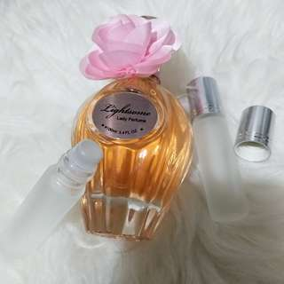 Lightsome Lady perfume Import SHARE IN ROLL ON BOTTLE 8ML
