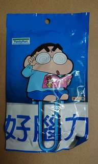 Familymart蠟筆小新萬字夾 (特大size)