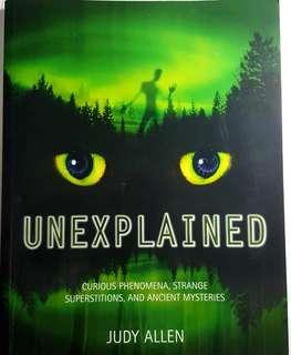 Unexplained by Kingfisher publisher
