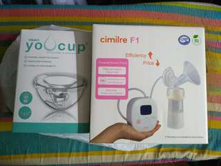 Breastpump Cimilre F1 + Youcup