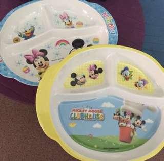 Mickey&Minnie plates
