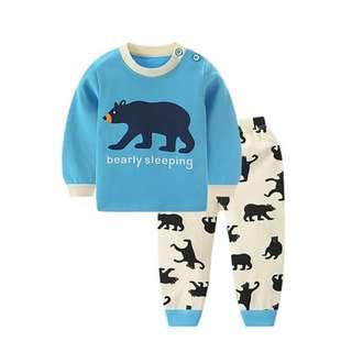 *INSTOCK* Blue Bear Children Pyjamas