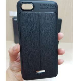 Auto Focus Xiaomi Redmi 6A 5.45 Leather Soft Case