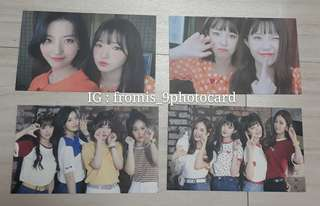 fromis_9 DKDK broadcasting photocard