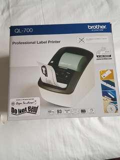 Label  Printer plus 1 carton rolls
