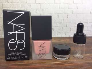 Nars liquid blush share in jar