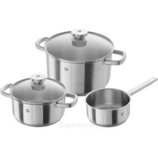 Zwilling J.A. Henckels Joy Cookware 3 Pieces Set