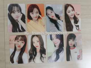 fromis_9 DKDK round 4. signed photocard