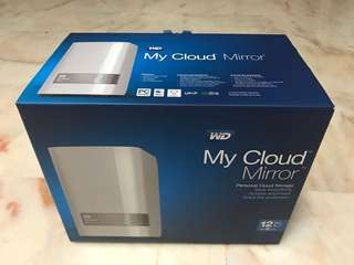 WD Cloud Mirror 12TB NAS