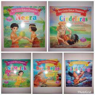 buku anak cerita rakyat nusantara