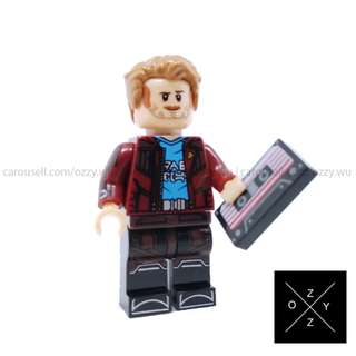Lego Compatible Marvel Superheroes Minifigures : Star-Lord