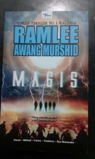 Novel Magis - Ramlee Awang Murshid
