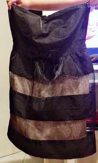 Tube sweetheart dress