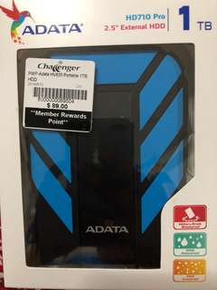 1TB external HDD (Sealed BNIB)