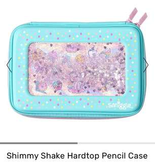 Smiggle Shimmy Shake Hardtop pencil case - available end of July