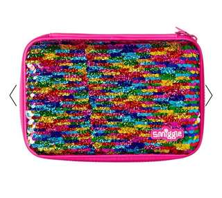 Smiggle Reverse Sequin Hardtop Pencil Case - available end of July