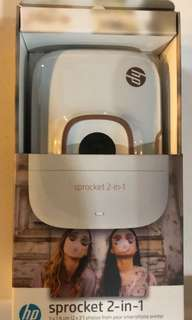 HP Sprocket 2 in 1