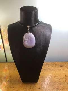 💜💜💜100%Grade A Jadeite Pendant 💜💜💜