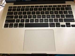 賣95% 新 13'Macbook Pro Retina Mid 2014 128GB 5000$