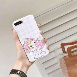 Yummy Strawberry Phone Case For iPhone 7/8/plus/X