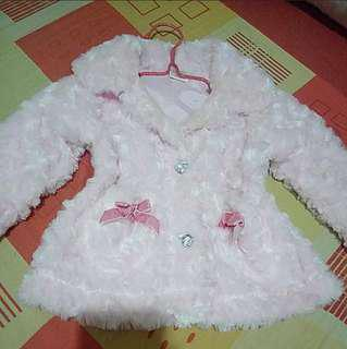 Super Soft Baby Fur Jacket