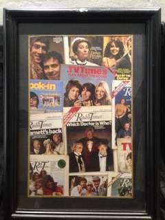 Vintage Poster + Frame